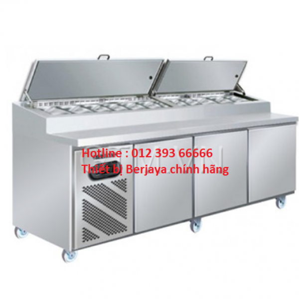 Bàn lạnh Pizza 3 cánh Berjaya BS 3D/PCF8/Z
