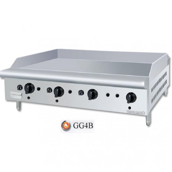 Bếp chiên bề mặt dùng gas Berjaya GG4B