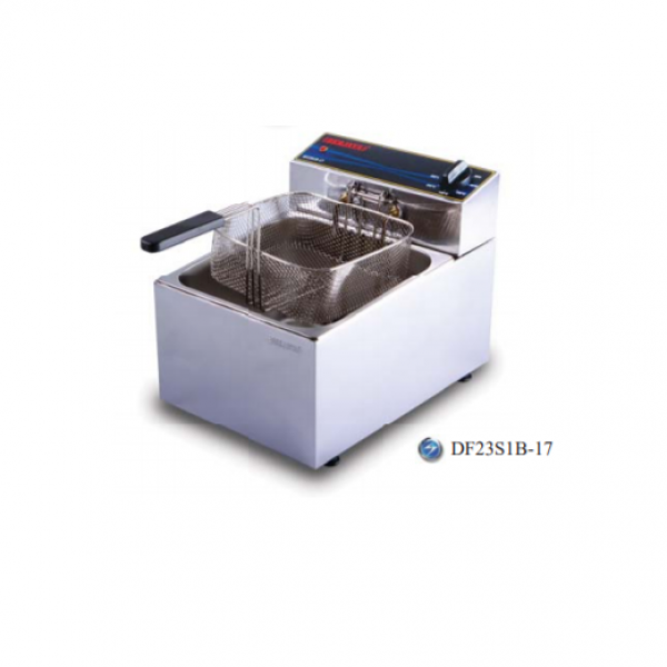 Bếp chiên nhúng đơn chạy điện Berjaya DF23S1B-17