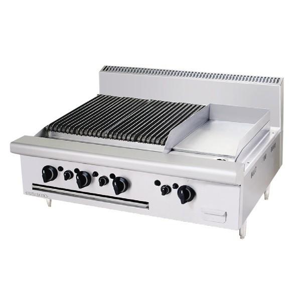 Bếp nướng chiên bề mặt dùng gas CB3BGG1B