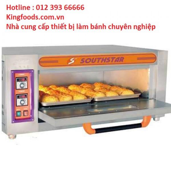Lò nướng bánh 1 tầng 2 khay chạy gas Southstar YXY-20A