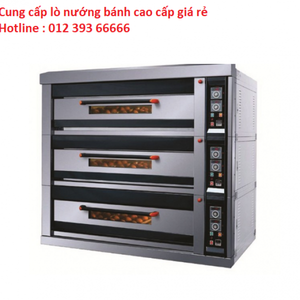 Lò nướng bánh cao cấp 3 tầng 6 khay điện Southstar NFD-90F