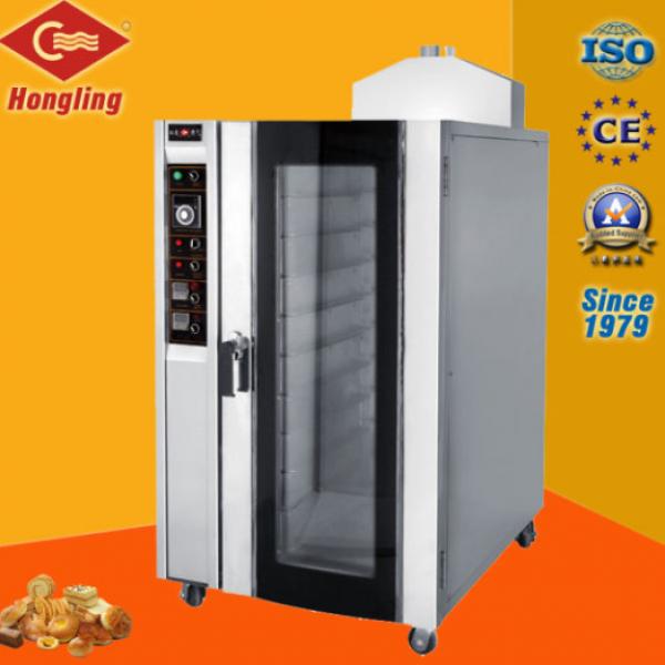 Lò nướng bánh mì đối lưu 10 khay gas Hongling RX-10Q
