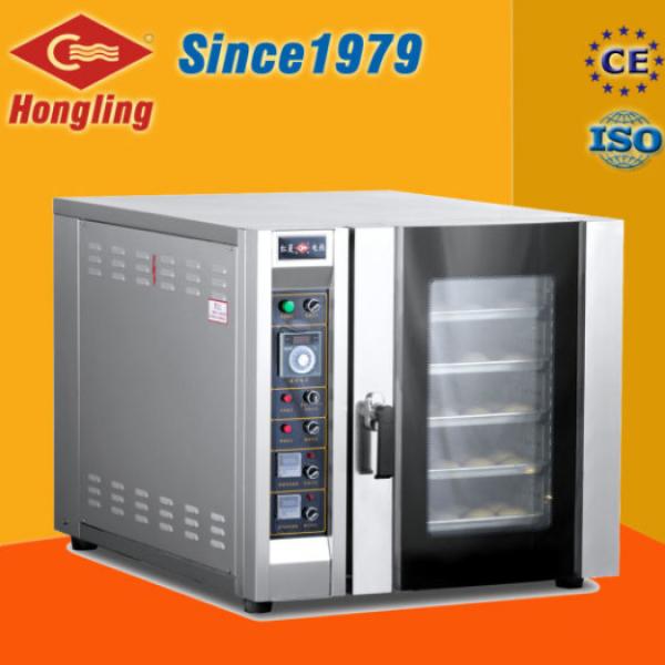 Lò nướng bánh mì đối lưu 5 khay gas Hongling RX-5Q