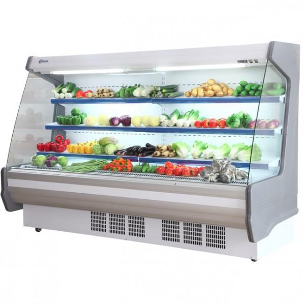 Tủ mát trưng bày rau củ quả sạch Scoolman SPG-2500FB