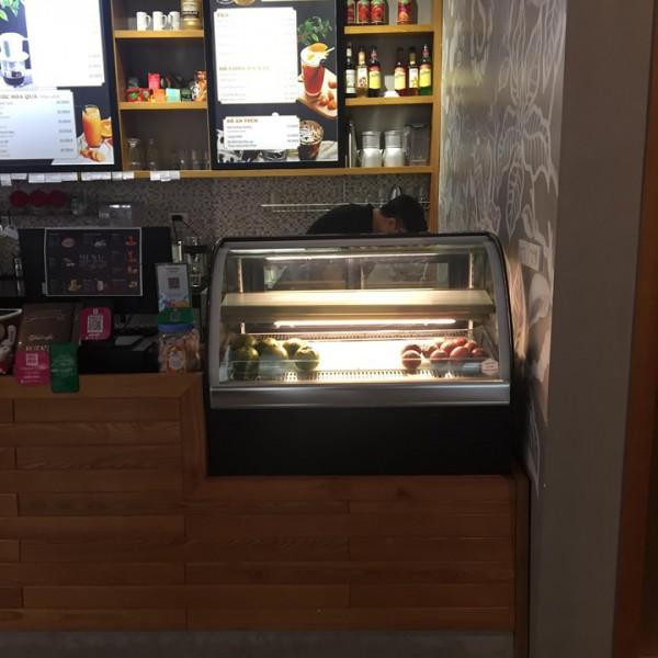 Tủ trưng bày bánh kem để bàn mini Bestcool