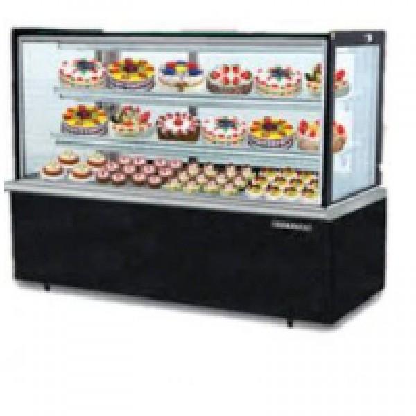 Tủ trưng bày bánh kem kính vuông Berjaya RCS 5SB