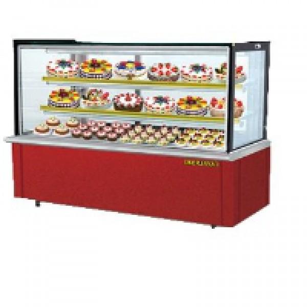 Tủ trưng bày bánh kem kính vuông Berjaya