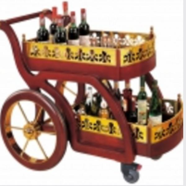 Xe đẩy phục vụ rượu 02